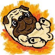 Dingo_Puppy_&_Junior_Dibujo
