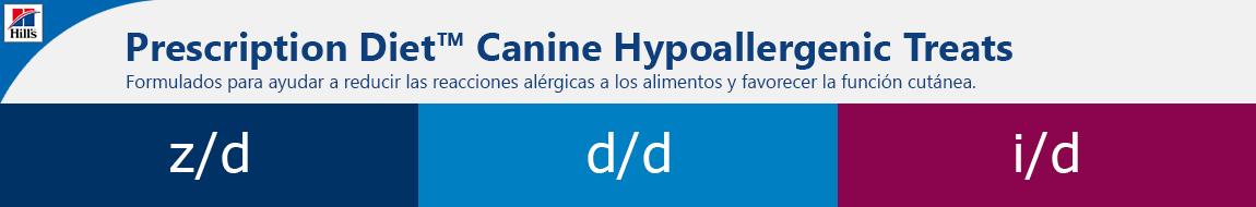 Hills Prescription Diet Hypoallergenic Treats  Cabecera